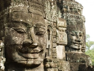 Bayon temple angkor photo
