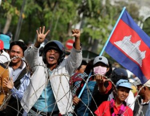 Cambodge manifestation 300x232 photo
