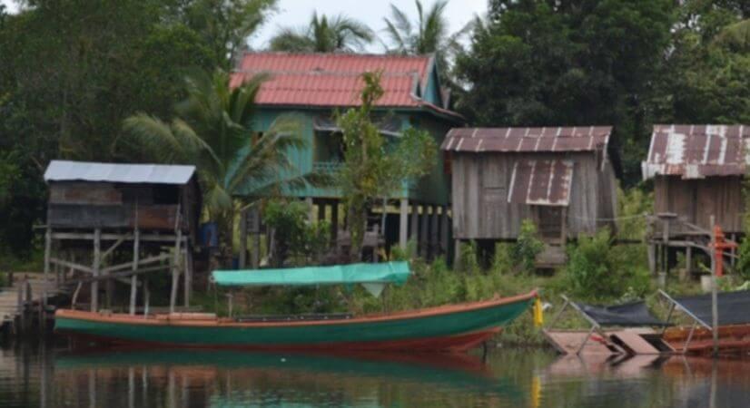 La commune de Chi-Phat, au cœur de la Chaîne des Cardamomes